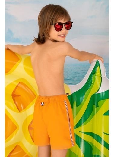 Katia & Bony Basıc Erkek Çocuk şort Mayo - Sarı Oranj